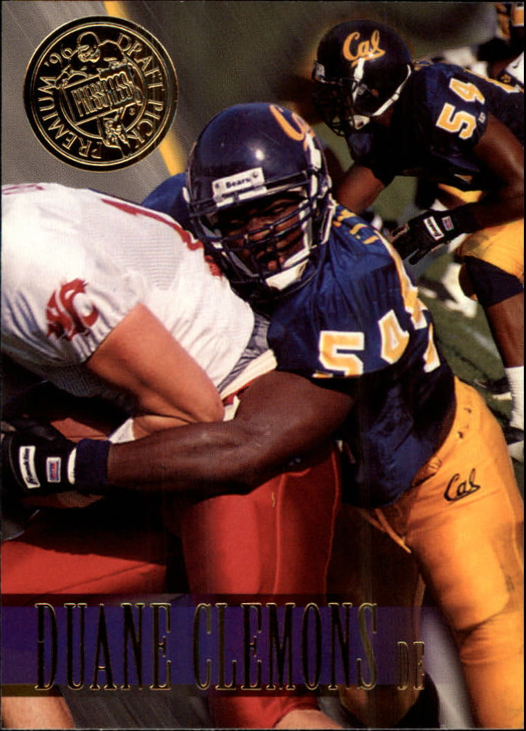 1996 Press Pass #3 Duane Clemons