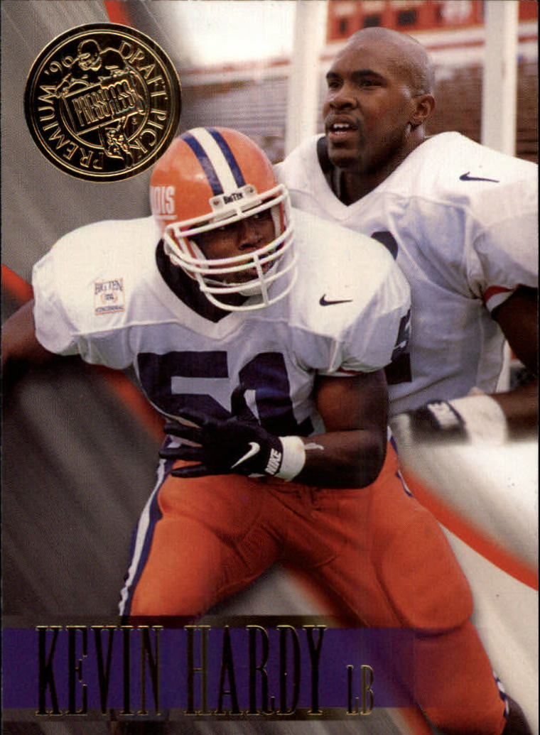 1996 Press Pass #4 Kevin Hardy