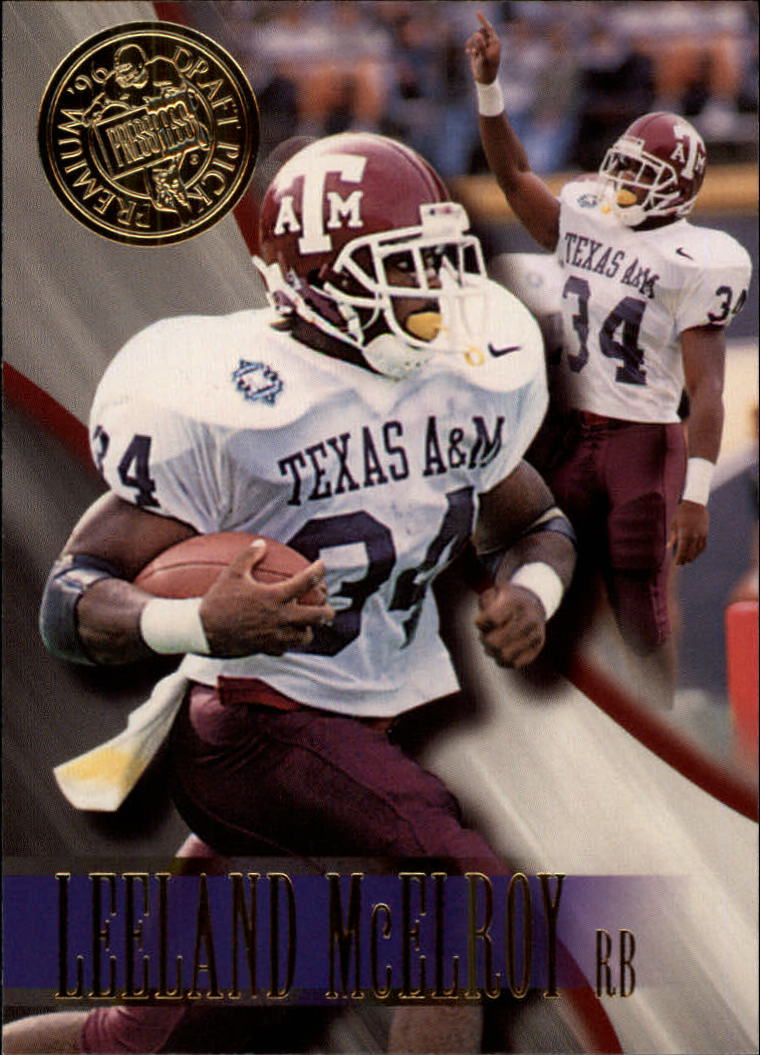 1996 Press Pass #8 Leeland McElroy