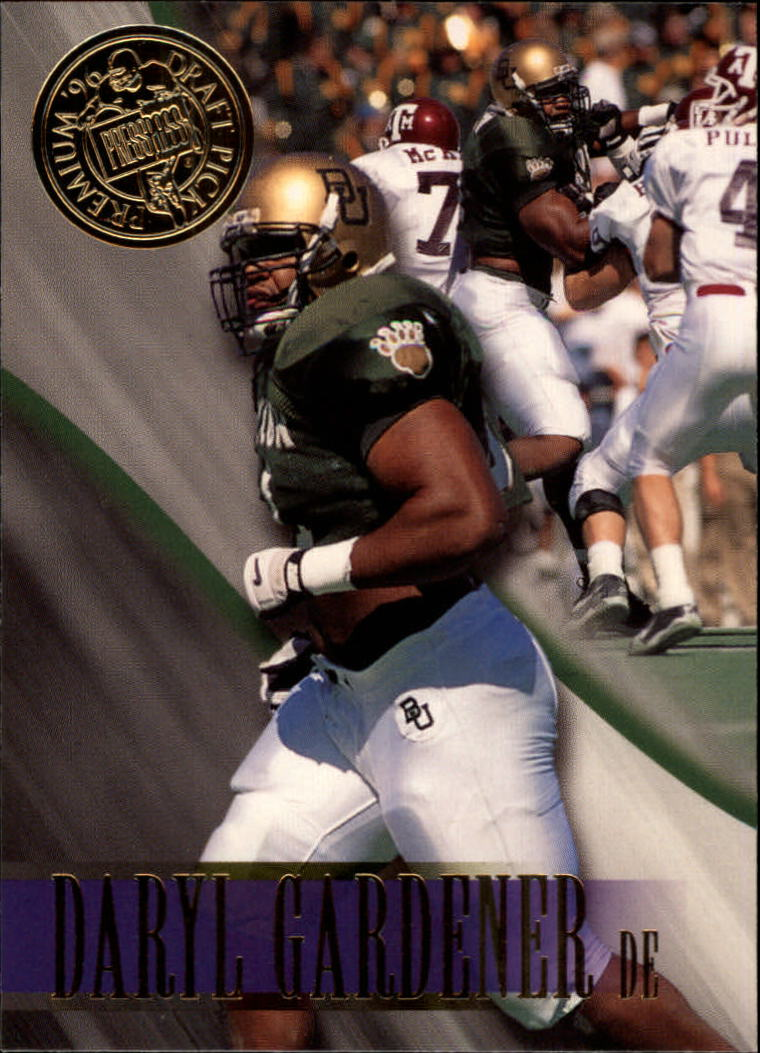 1996 Press Pass #11 Daryl Gardener