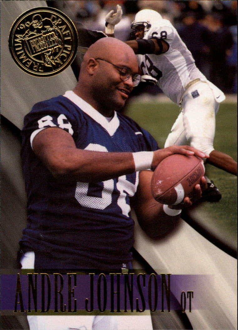 1996 Press Pass #17 Andre Johnson