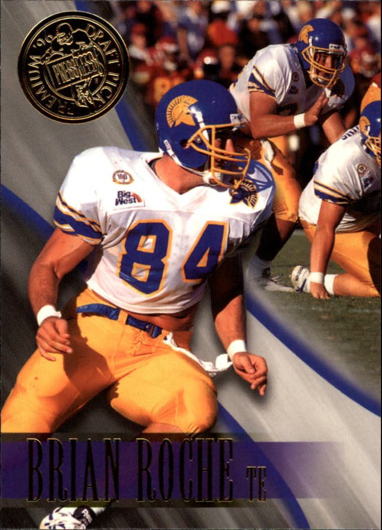 1996 Press Pass #30 Brian Roche