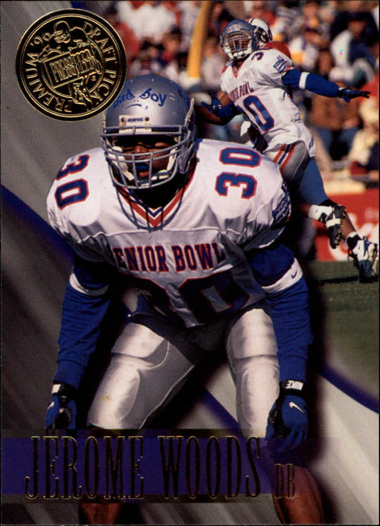 1996 Press Pass #32 Jerome Woods