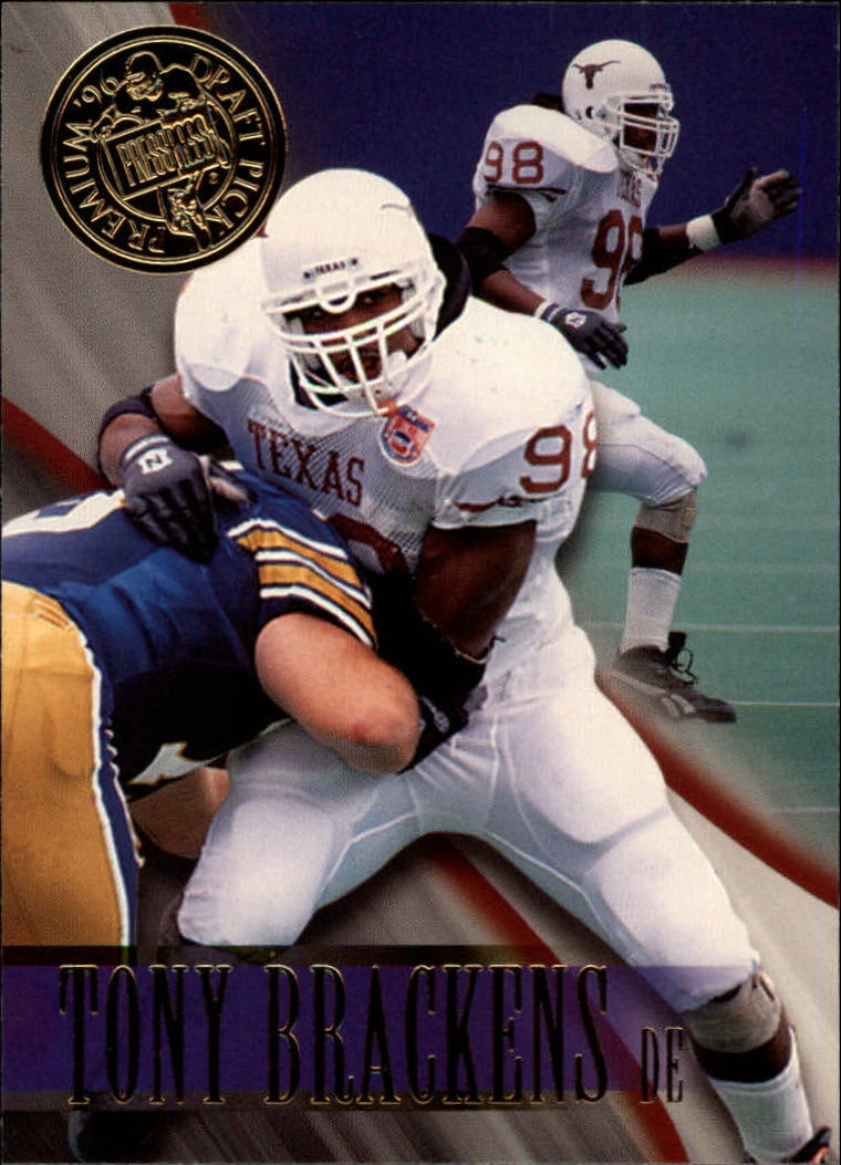 1996 Press Pass #38 Tony Brackens