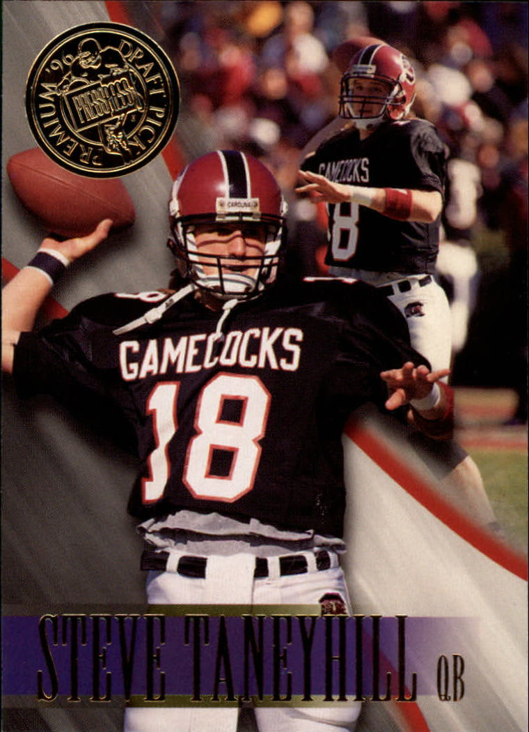 1996 Press Pass #47 Steve Taneyhill