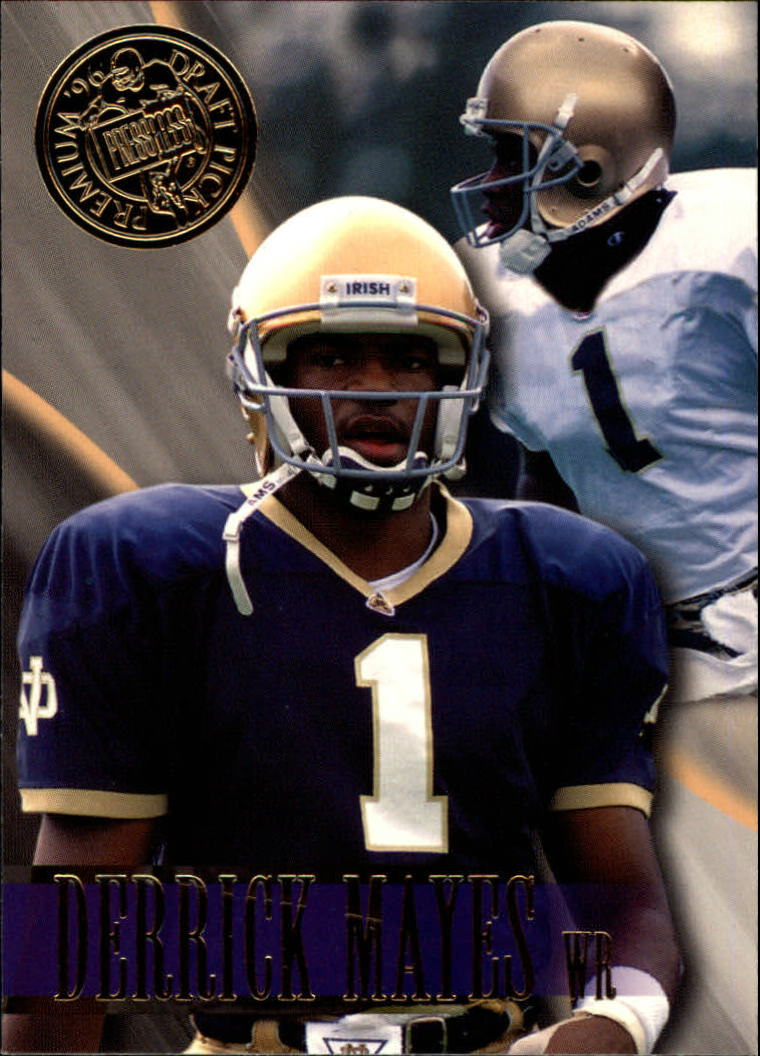 1996 Press Pass #50 Derrick Mayes