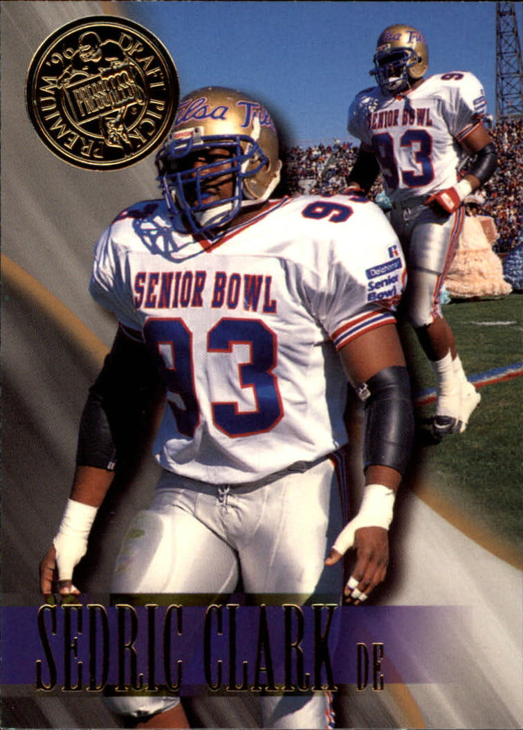 1996 Press Pass #52 Sedric Clark
