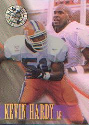 1996 Press Pass Holofoil #4 Kevin Hardy
