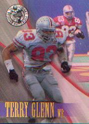 1996 Press Pass Holofoil #7 Terry Glenn