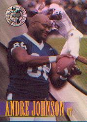 1996 Press Pass Holofoil #17 Andre Johnson