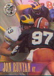1996 Press Pass Holofoil #19 Jon Runyan