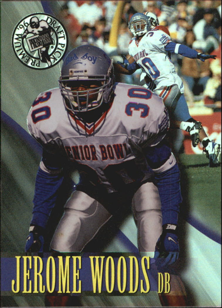 1996 Press Pass Holofoil #32 Jerome Woods