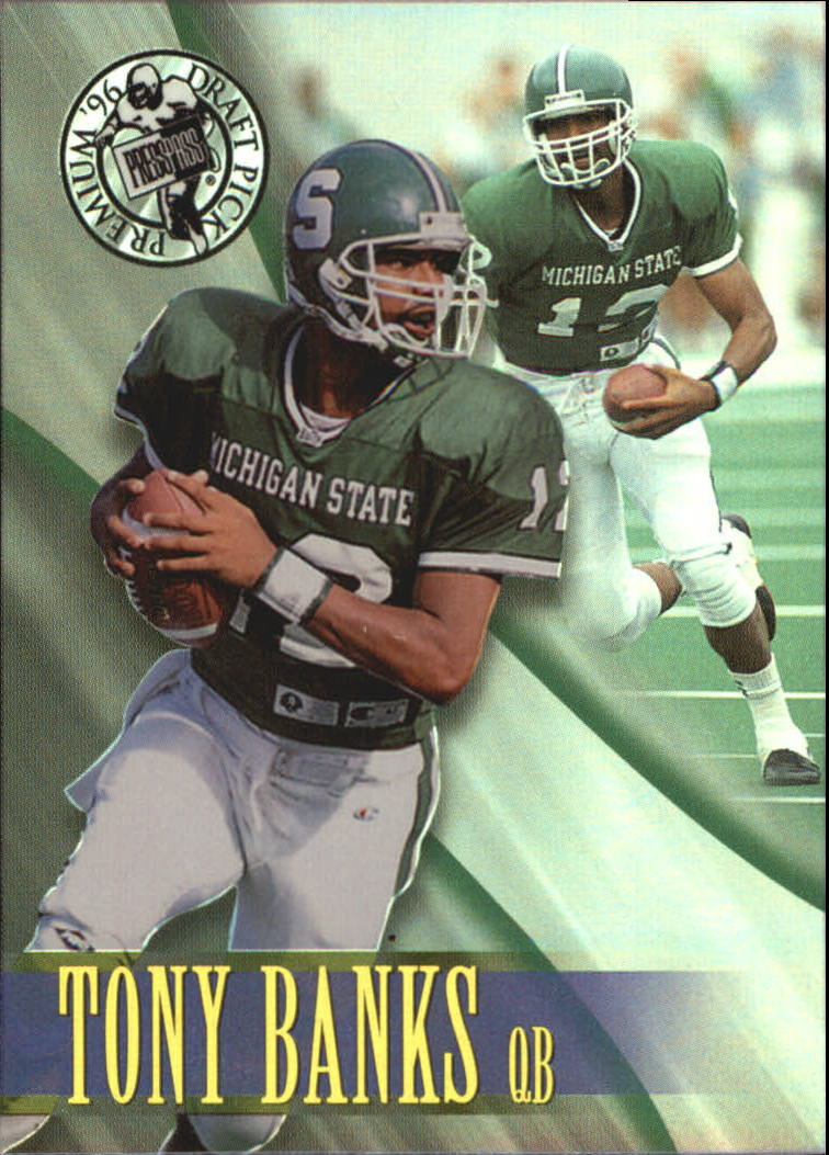 1996 Press Pass Holofoil #43 Tony Banks