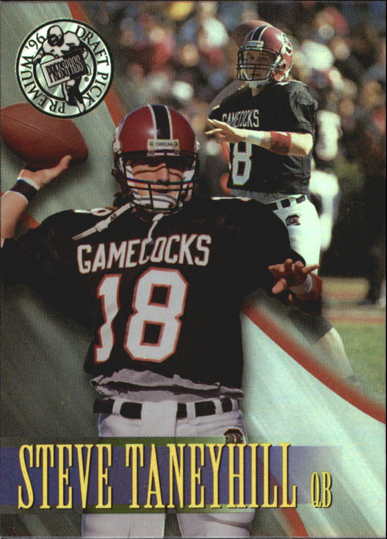 1996 Press Pass Holofoil #47 Steve Taneyhill