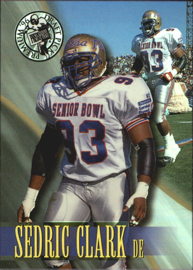 1996 Press Pass Holofoil #52 Sedric Clark