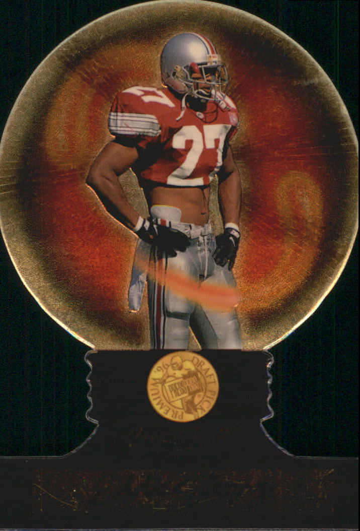 1996 Press Pass Crystal Ball #CB5 Eddie George