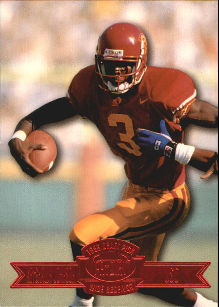 1996 Press Pass Paydirt Red #1 Keyshawn Johnson