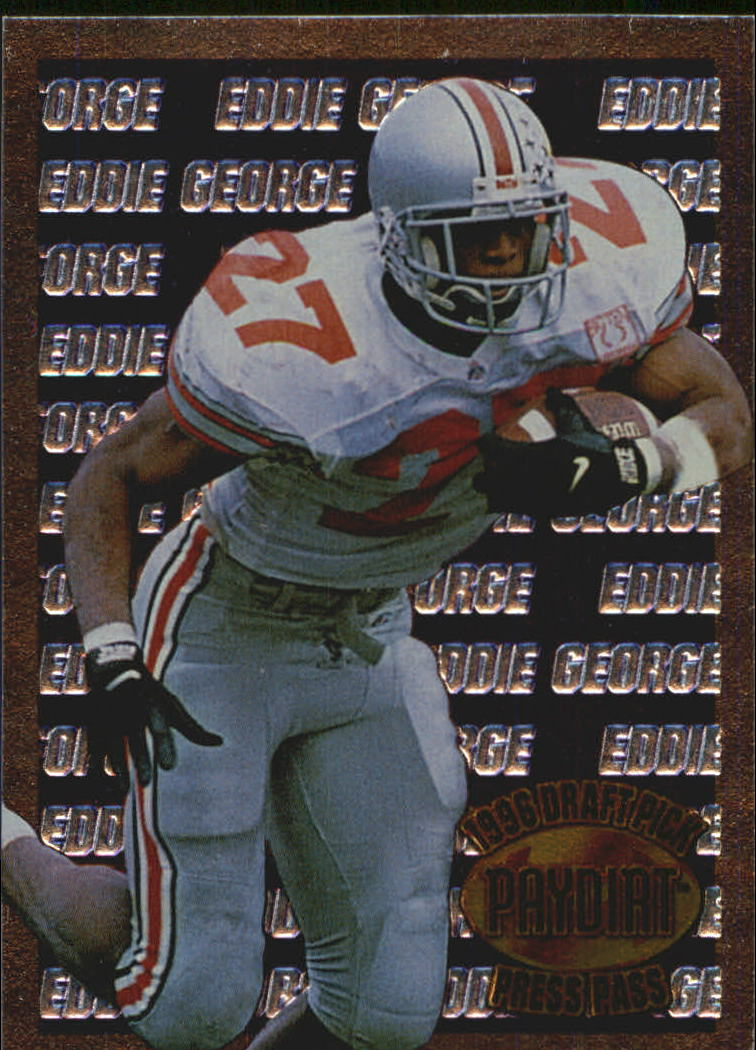 1996 Press Pass Paydirt Eddie George #EG1 Eddie George