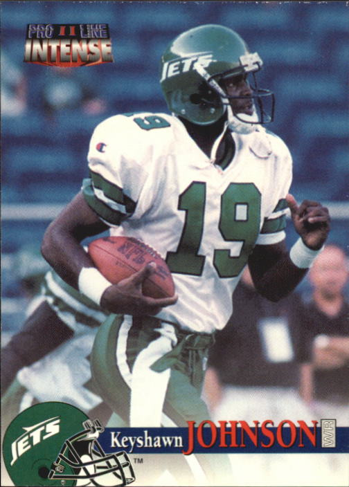 1996 Pro Line Intense #82 Keyshawn Johnson RC