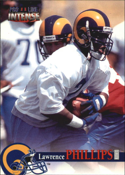 1996 Pro Line Intense #95 Marvin Harrison RC