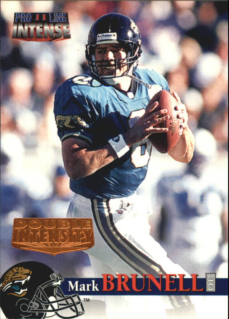 1996 Pro Line Intense Double Intensity #3 Mark Brunell