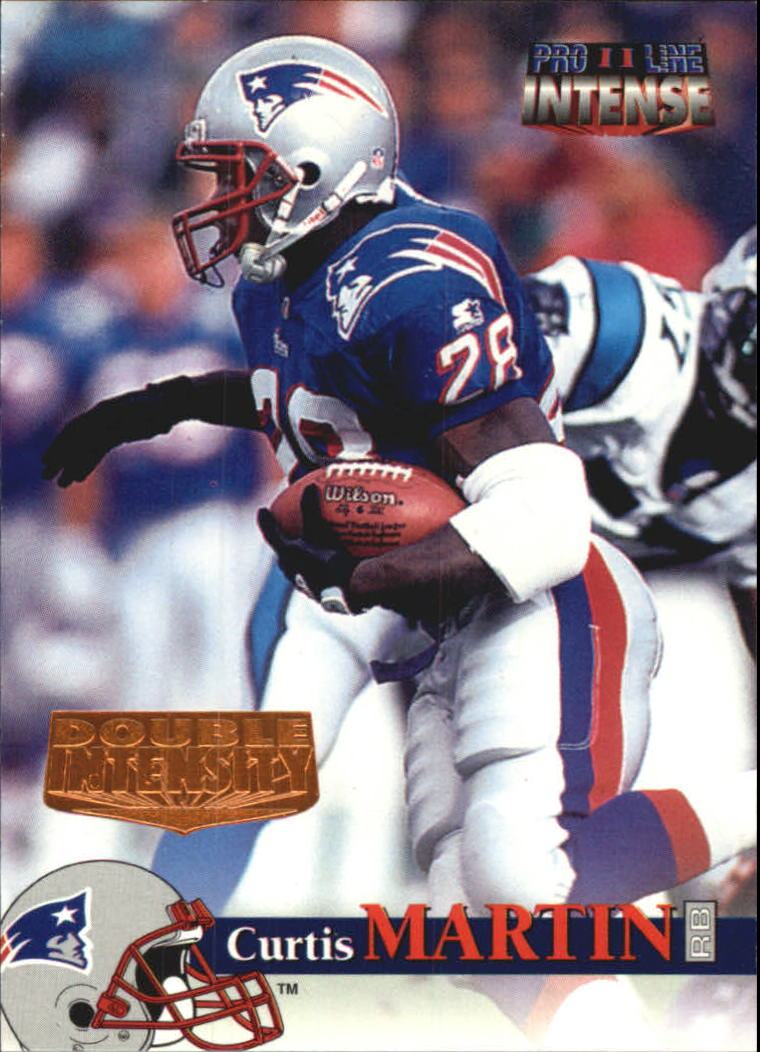 1996 Pro Line Intense Double Intensity #36 Curtis Martin