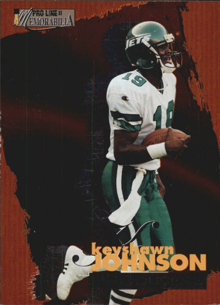 1996 Pro Line Memorabilia Producers #P1 Keyshawn Johnson