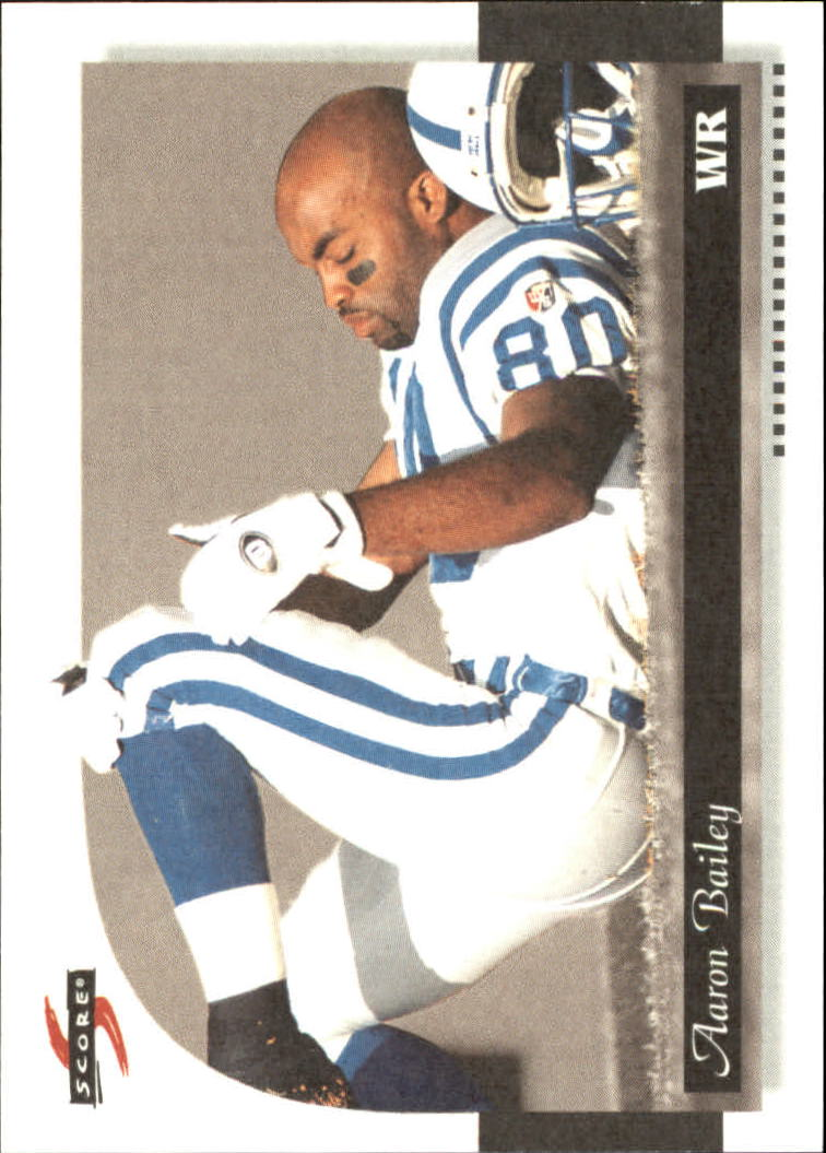 1996 Score Field Force #92 Aaron Bailey