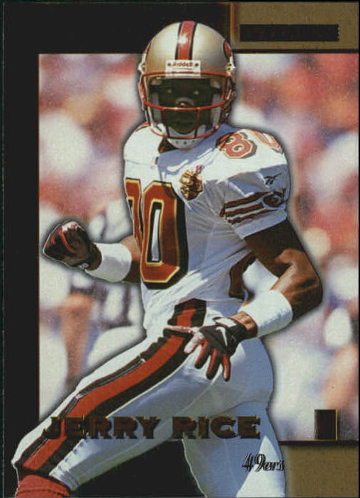 1996 Score Board Lasers #16 Jerry Rice