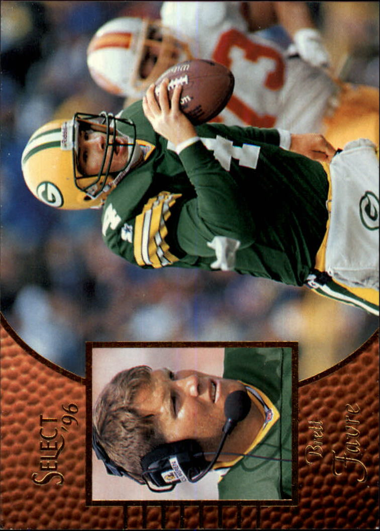 1996 Select #19 Brett Favre