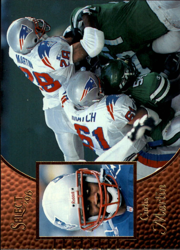 1996 Select #20 Curtis Martin