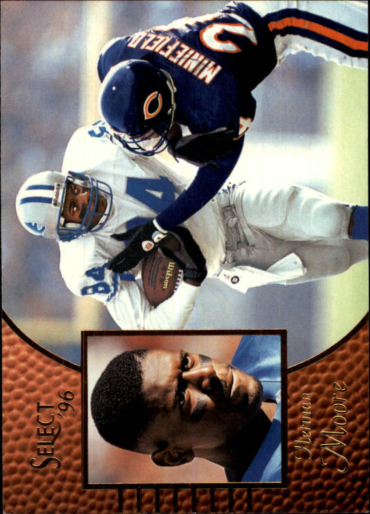 1996 Select #28 Herman Moore
