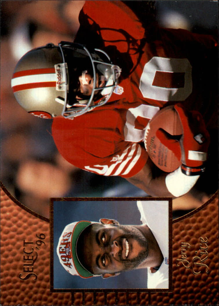 1996 Select #33 Jerry Rice