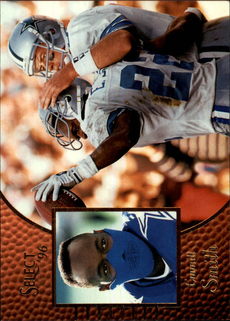 1996 Select #37 Emmitt Smith