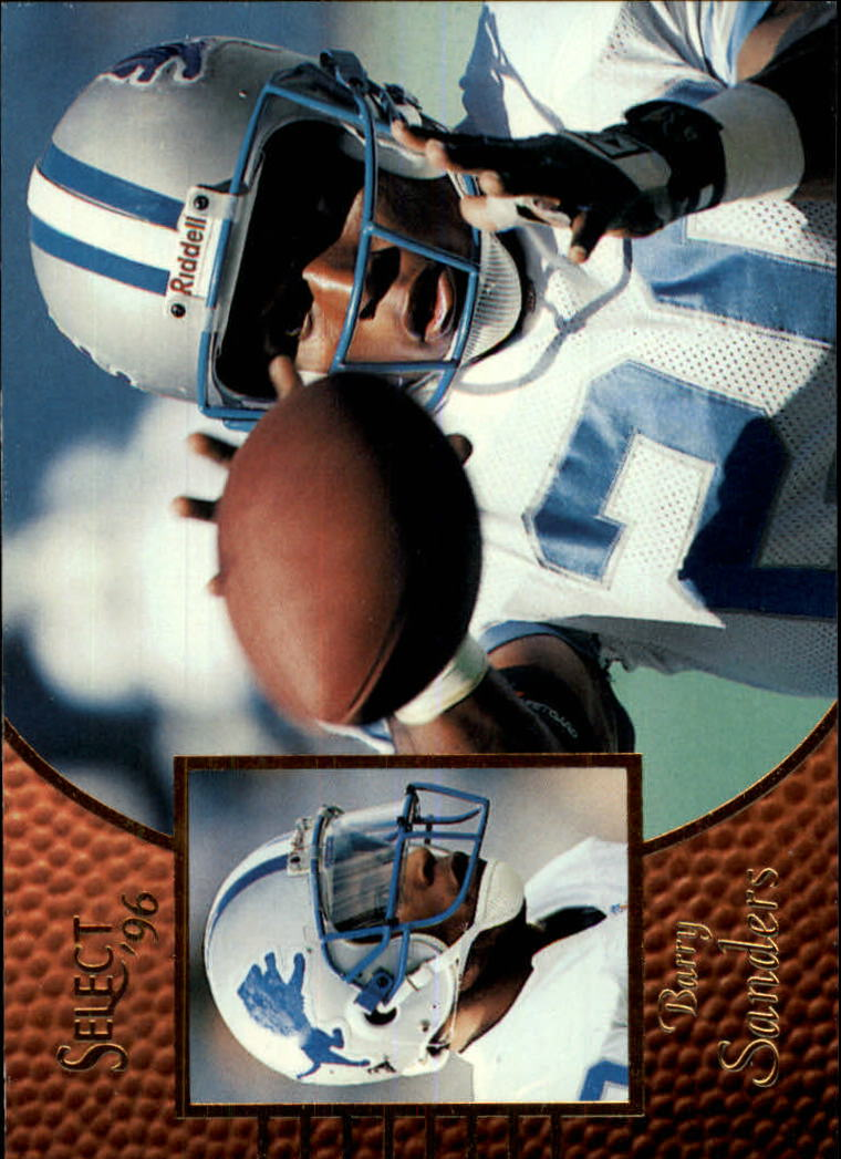 1996 Select #76 Barry Sanders
