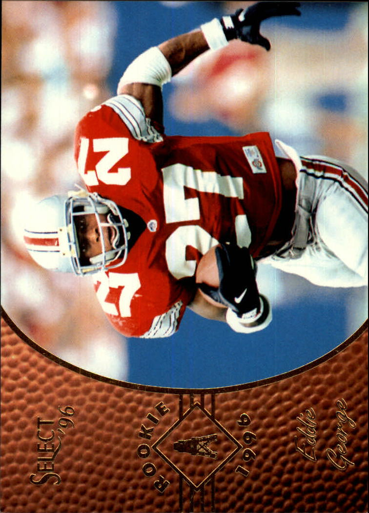 1996 Select #168 Eddie George RC