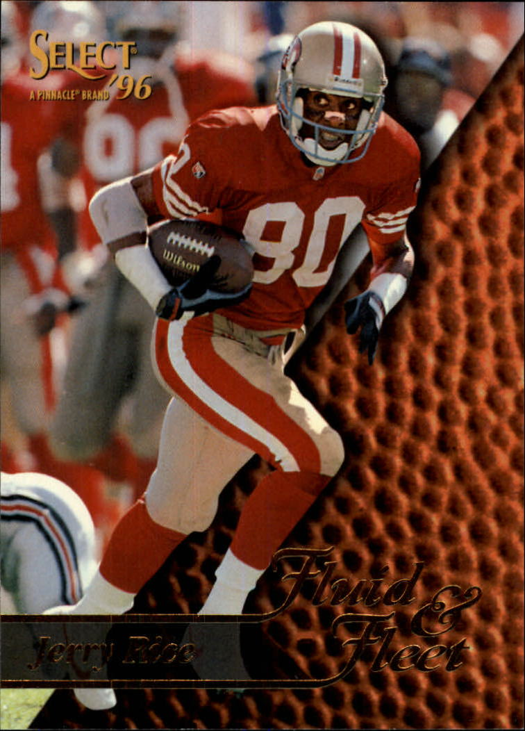 1996 Select #186 Jerry Rice FF