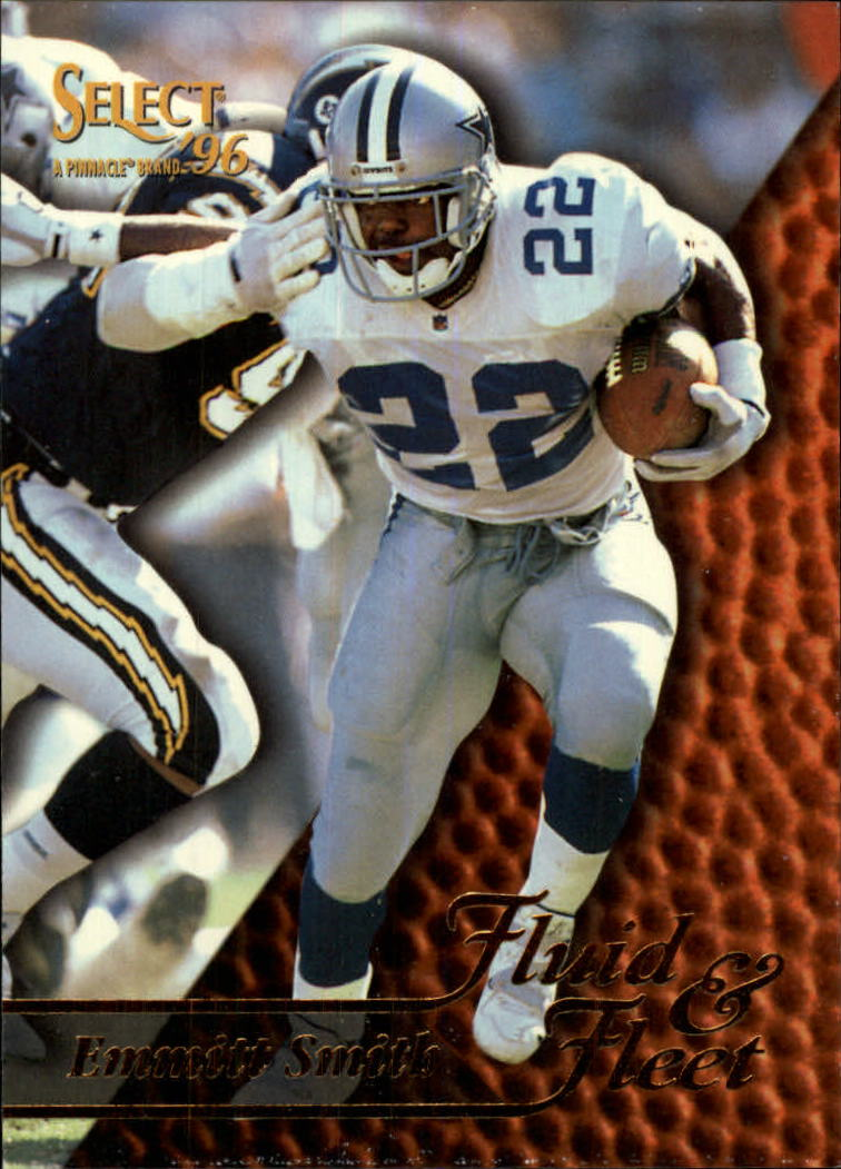 1996 Select #187 Emmitt Smith FF
