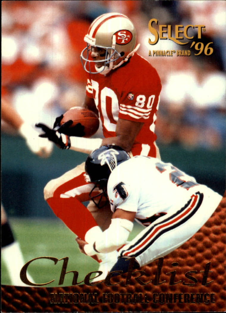 1996 Select #199 Jerry Rice CL