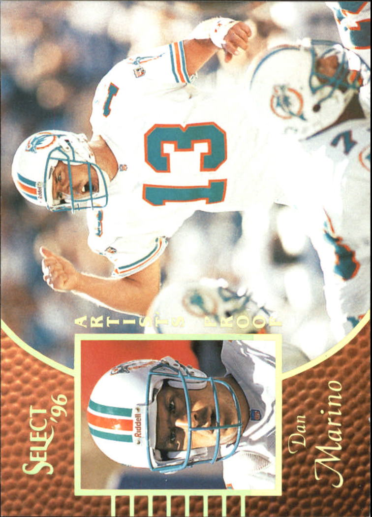 1996 Select Artist's Proofs #8 Dan Marino