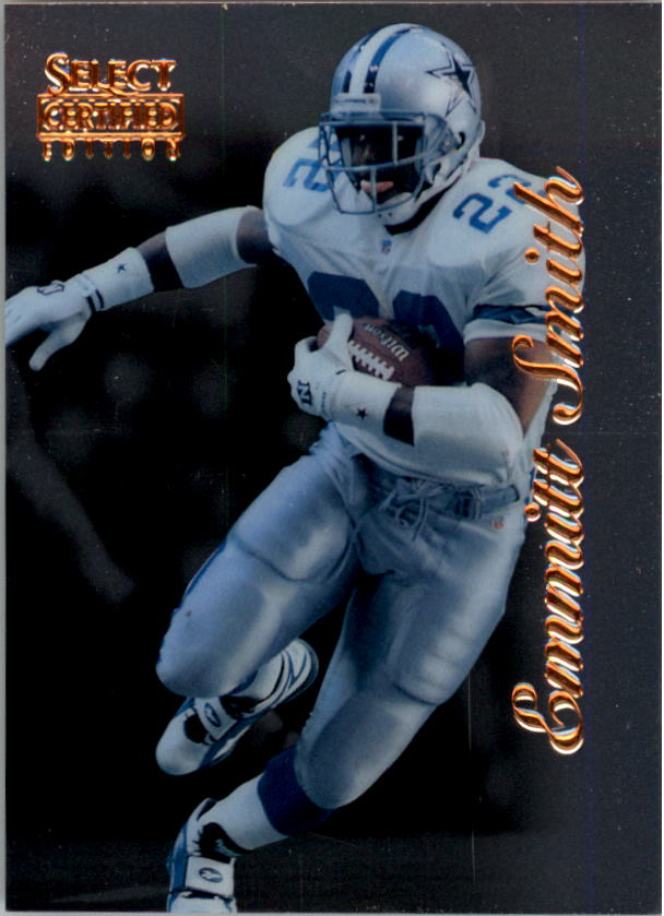 1996 Select Certified #27 Emmitt Smith