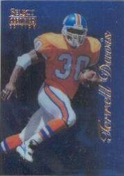 1996 Select Certified Blue #41 Terrell Davis