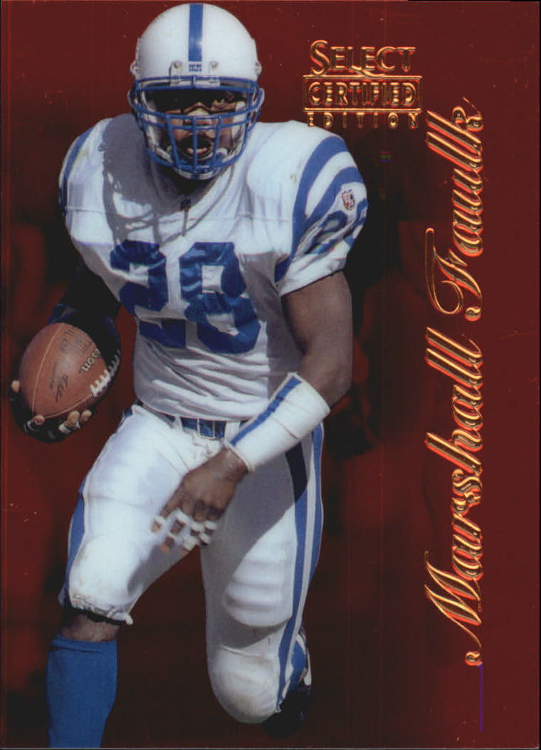 1996 Select Certified Red #26 Marshall Faulk