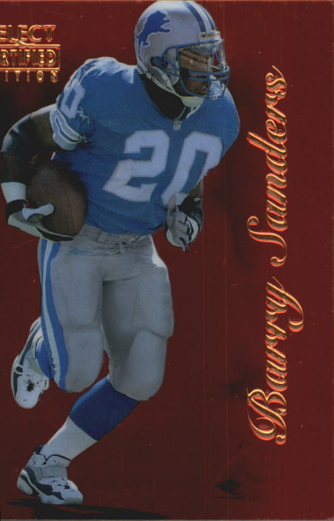 1996 Select Certified Red #33 Barry Sanders