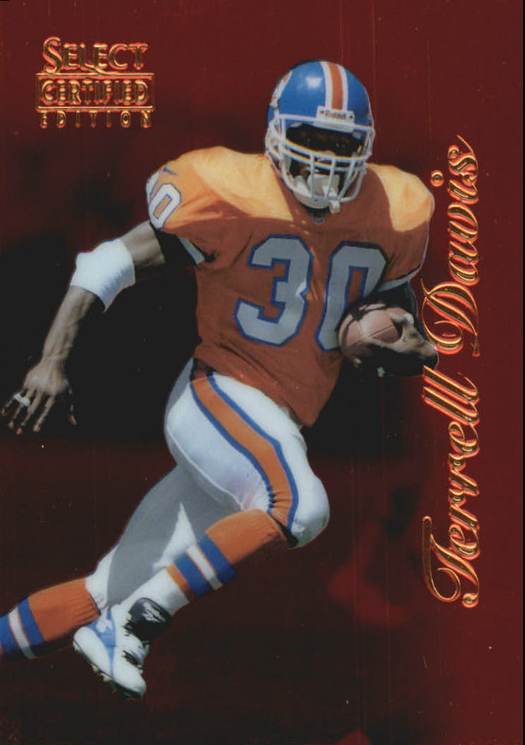 1996 Select Certified Red #41 Terrell Davis