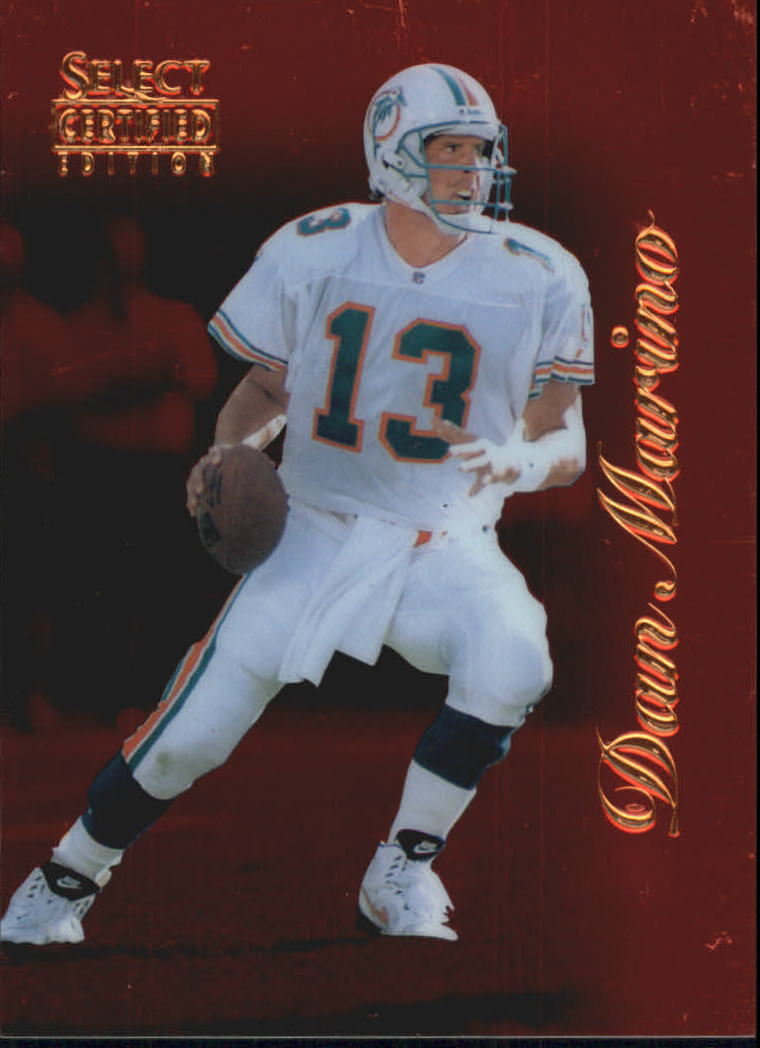 1996 Select Certified Red #55 Dan Marino