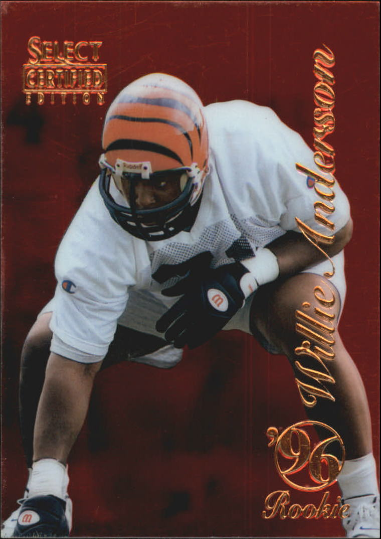 1996 Select Certified Red #96 Willie Anderson