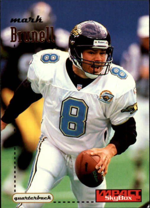 1996 SkyBox Impact #64 Mark Brunell