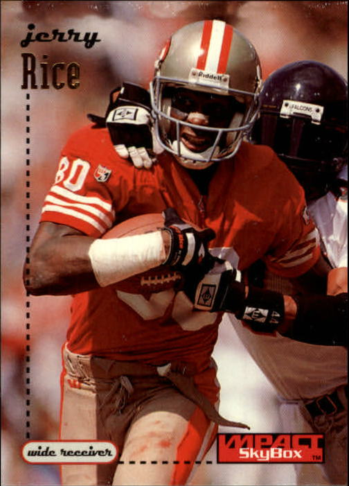 1996 SkyBox Impact #131 Jerry Rice
