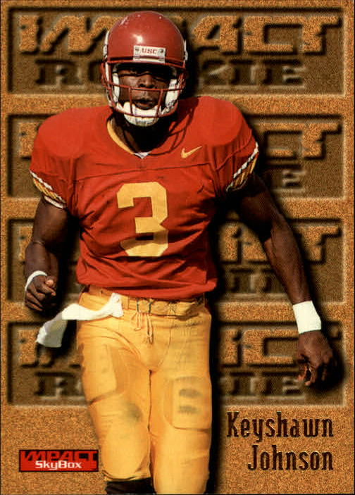 1996 SkyBox Impact #169 Keyshawn Johnson RC